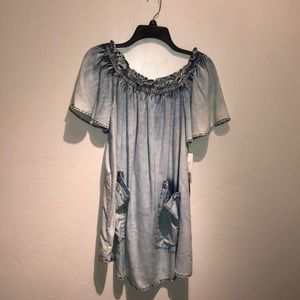 Forever 21 small dress/shirt denim